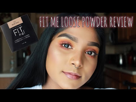 Maybelline Fit Me Loose Powder ReviewFirst Impressions