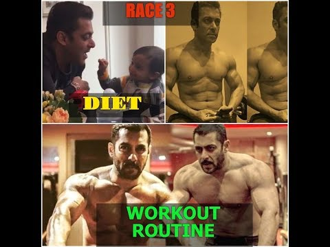 Salman Khan's Diet and Workout plan for RACE 3 | Daily Routine