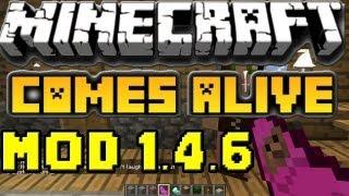 Minecraft mods Capitulo 17: Descargar e instalar Comes Alive mod para minecraft 1.3.2