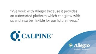 Calpine Explains Benefits of Allegro's ETRM Software