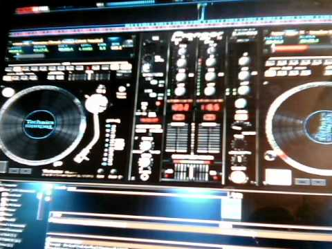 soca mixdown  with virtual dj & pioneer skins