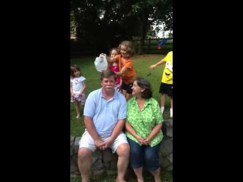 Pam and Chris Ice Bucket Challenge