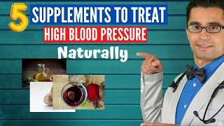5 Supplements for High Blood Pressure | Naturally control Blood Pressure