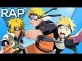 🔴 Rap Linhagem de pai para filho - Minato, Naruto e Boruto l Águia l Conjunto 17
