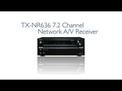 ONKYO - TX-NR636 Network A/V Receiver