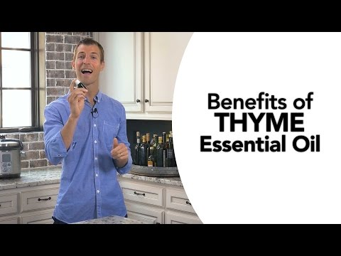 5 Benefits of Thyme Essential Oil thumbnail