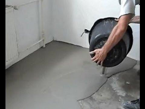 Как делать наливной пол своими руками в квартире