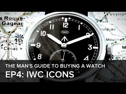The Man's Guide to Buying a Watch: Episode 4: IWC's Icons through the years