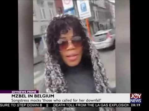 Mzbel in Belgium - Joy Entertainment Prime (23-12-16)