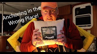 Anchoring in the WRONG PLACE! - Lazy Gecko Sailing VLOG 72