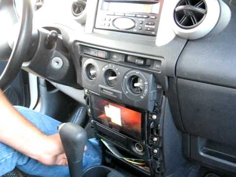 How to Remove Radio / CD Player from 2003 Toyota Scion for Repair.