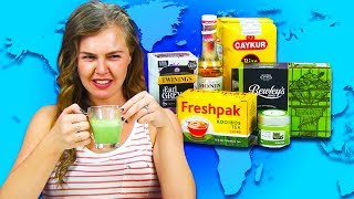 Irish People Try Tea From Around The World