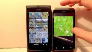 Windows Phone 7 Mango vs Meego Harmattan