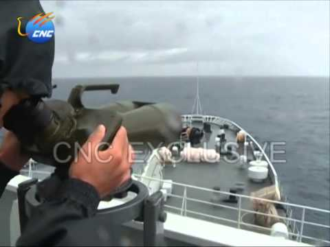 Chinese naval vessel searches southern Indian Ocean for MH370