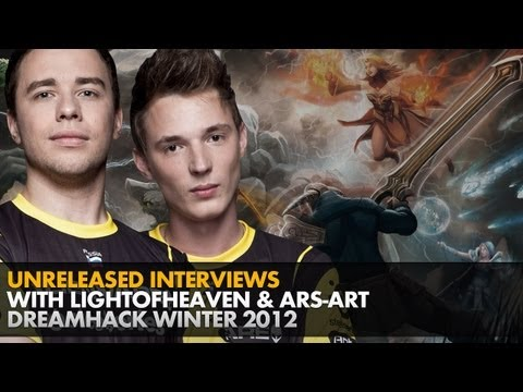 Unreleased interview with LighTofHeaveN and ARS-ART @ DreamHack Winter 2012
