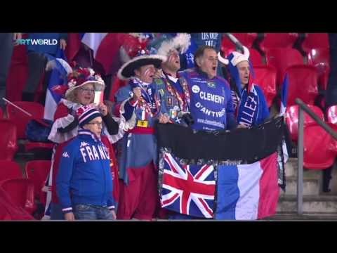 TRT World: Atmosphere during England-France football match, Lance Santos reports from London