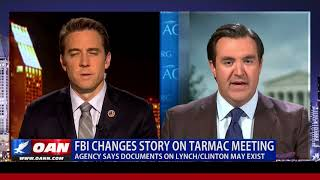 FBI Changes Story on Tarmac Meeting