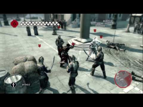 Assassin's Creed 2 - Auditore Cape Gameplay