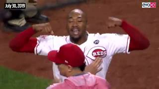 Reds-Pirates TWO bench-clearing brawls of 2019 season