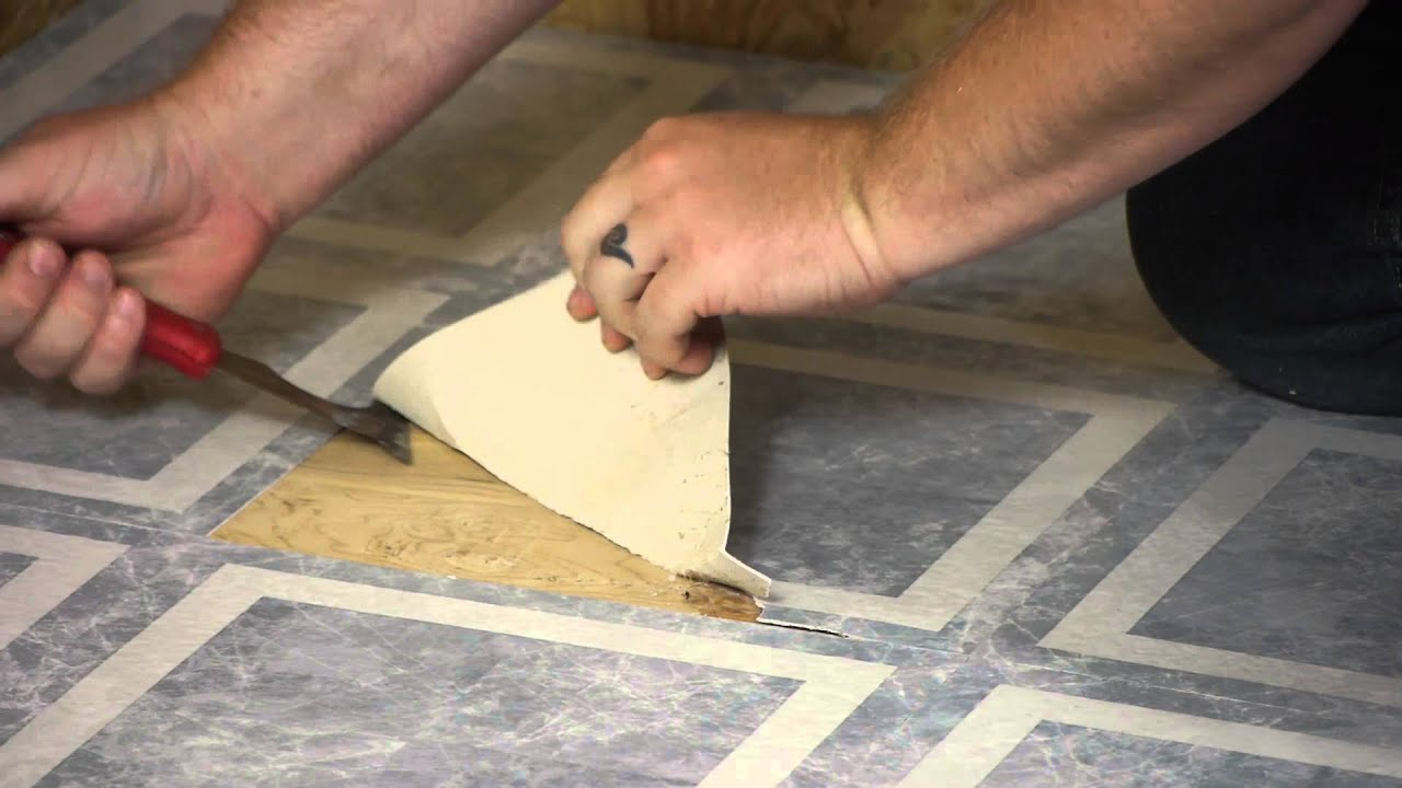 Removing floor tile