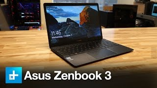 Asus Zenbook3 with 7th Gen Core i7 - Review