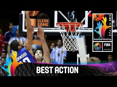 Argentina v Philippines - Best Action - 2014 FIBA Basketball World Cup