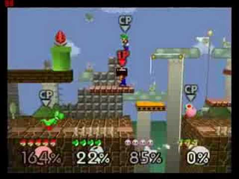 Super Smash Bros 64 Mushroom Kingdom YouTube