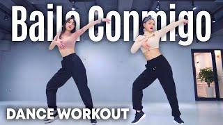 Dance Workout Selena Gomez, Rauw Alejandro - Baila Conmigo  MYLEE Cardio Dance Workout