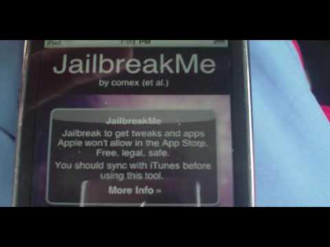 How to Jailbreak iPhone. iPod Touch. iPad iOS 9. iOS 7. iOS 6.1and Up - JailbreakMe.com