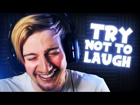 THE FUNNIEST CLIPS BY FAR (..yeah I laughed a lot)    Try Not To Laugh Challenge #6 thumbnail