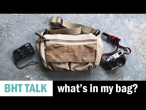What's In My Bag (on my day off?)