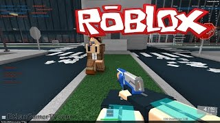 EthanGamerTV plays Roblox: Nerf FPS Advanced (KID GAMING)