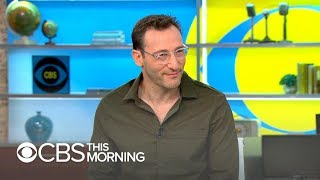 "Simon Sinek: Achieve success by seeing life as an ""infinite game"""