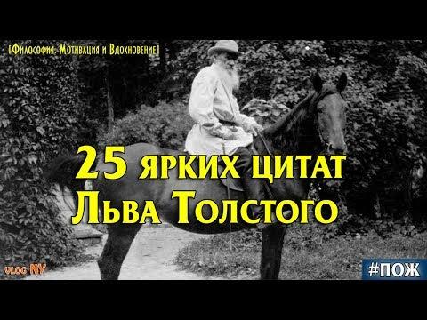 25 ярких цитат Льва Толстого. Лев Толстой и его мудрые цитаты. ПОЖ. vlogNY