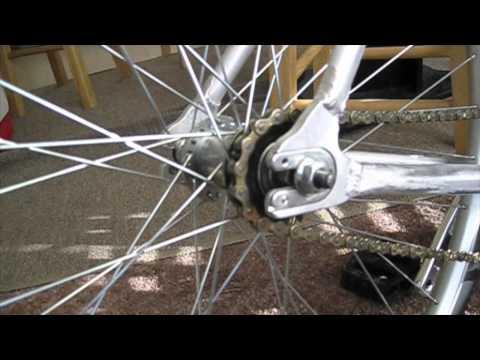 Видео как сделать велосипед