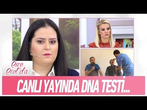 Canlı yayında DNA testi için numune alındı - Esra Erol'da 13 Aralık 2017