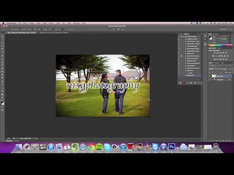 How to Watermark Multiple Pictures in Photoshop CS6