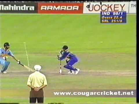 India Vs Sri Lanka, 1996 World Cup Semi Final, Eden Gardens, Kolkata, Ind Innings video