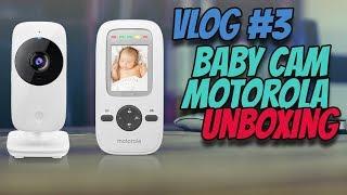 VLOG #3 Monitor para bebé Motorola   Video Baby Monitor MBP481