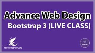 Web Design Advance Course [Bangla] - ( Bootstrap 3 / LIVE Class)