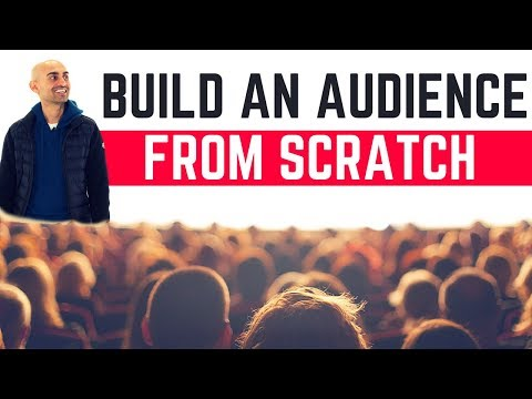 How to Build an Audience (Even if You're a Nobody)