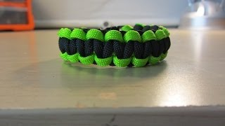 How To Make A Cobra Paracord Bracelet