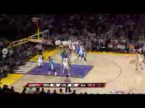 LA Lakers 128  114 Nuggets Gasol 36 Kobe 32 PLAYOFFS 2008 HD
