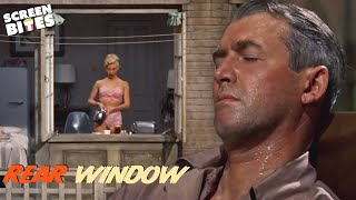 Rear Window | The Opening Sequence | James Stewart and Grace Kelly