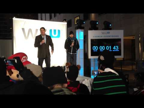 Nintendo World WiiU Launch Event NYC Countdown with Reggie Fils-Aime