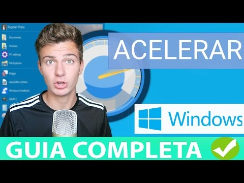 ACELERAR PC WINDOWS 10 & 8 & 7 AL MÁXIMO 2017   WINDOWS MAS RAPIDO