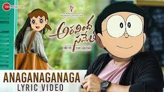 Anaganaganaga song nobita version  Aravinda sameth