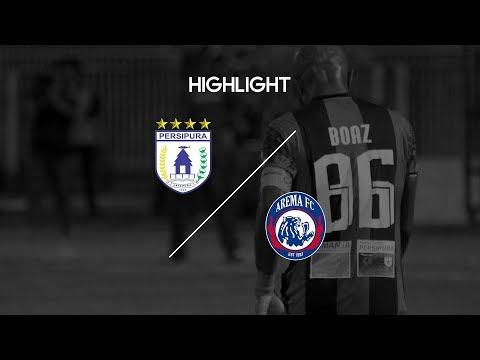 Cuplikan Pertandingan Liga 1 Persipura Jayapura vs Arema FC 27 Oktober 2017