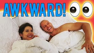 HE CAUGHT ME PEEKING! | Amanda Cerny