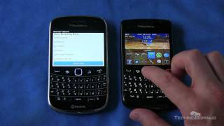BlackBerry 9900 vs. BlackBerry 9780